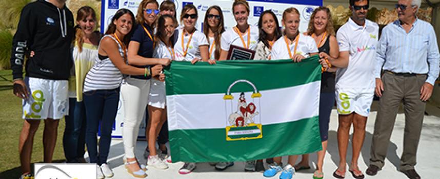 Madrid frena el empuje de Andalucía en la final femenina del Campeonato de España de Padel de Selecciones Autonómicas