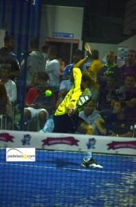 Ernesto Moreno final 1 masculina torneo Poligono San Luis en Fantasy Padel noviembre 2013