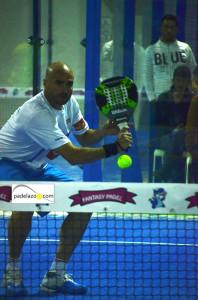 Juanjo Gutierrez final 1 masculina torneo Poligono San Luis en Fantasy Padel noviembre 2013