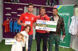 Curro Escalante y David Prados subcampeones 2 masculina resultados torneo babolat ocean padel noviembre 2013