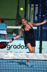 ana lopez 2 padel 3 femenina Open de Padel Pinos del Limonar octubre 2013