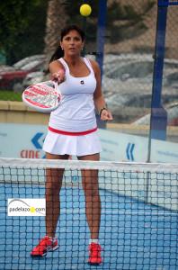 georgina 4 padel femenina B Torneo de Padel Los Fernandos Axarquía octubre 2013
