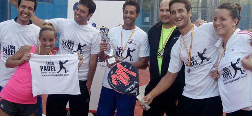 Málaga copa la cima de la IV Twinning Padel League