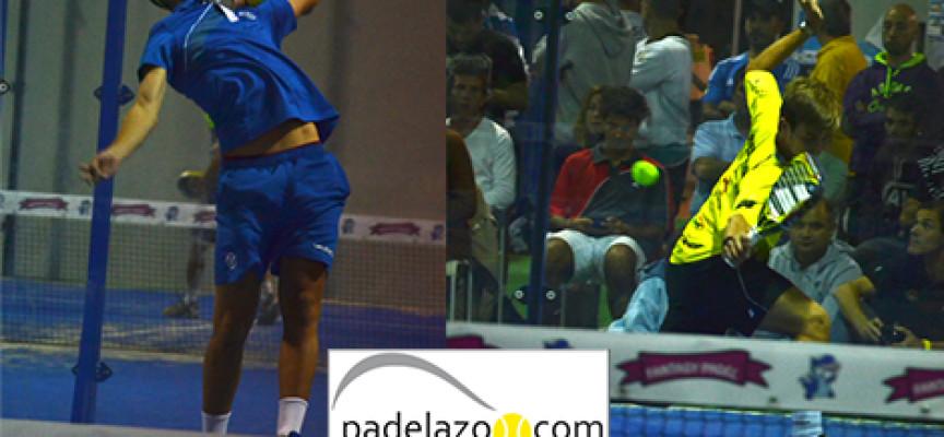 El juego eléctrico de Ále Ruiz y Ernesto Moreno reina en el Torneo de Fantasy Padel