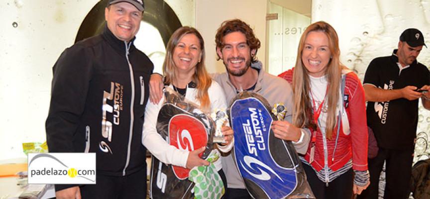Steel Custom cierra 2013 con más de un centenar de parejas en su último torneo de padel en Myramar Fuengirola
