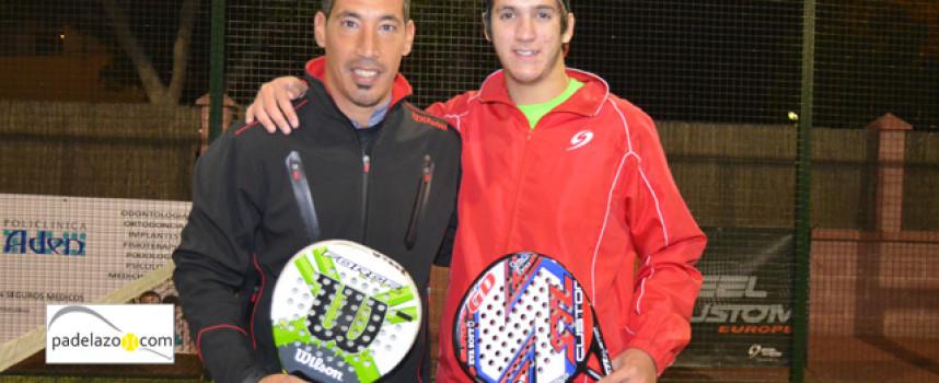 Manu Fernández y Chino Muñoz defienden su trono en el último Torneo Steel Custom de 2013 en Myramar Fuengirola