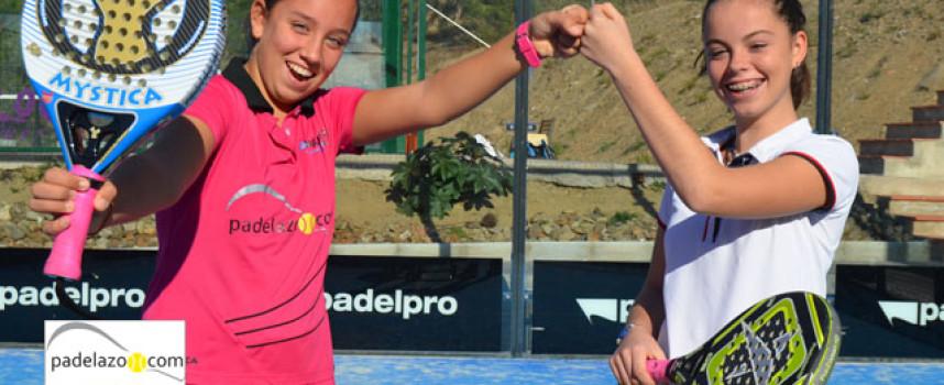 Bea González y Paula Bellver: dos maestras del padel infantil en busca de corona