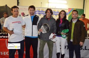 gerardo-ballesteros-y-lucia-gonzalez-subcampeones-mixta-A-torneo-padel-honda-cotri-club-tenis-malaga-diciembre-2013