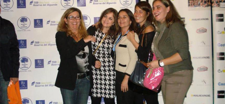 La Liga Femenina Padelazo resuelve su primera fase en el club Reserva del Higuerón