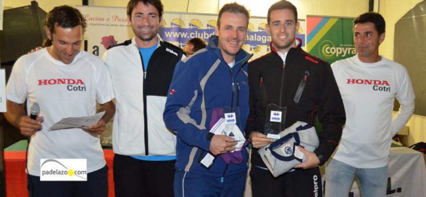El padel exhibe su pujanza en el Torneo Honda Cotri del Club de Tenis Málaga