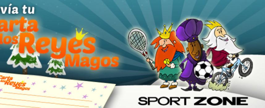 Concurso Sport Zone: Haz realidad tu carta de reyes