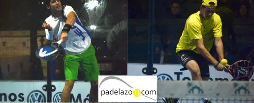 Gonzalo Rubio y Cayetano Rocafort no dan tregua en el Torneo de Navidad de Los Caballeros