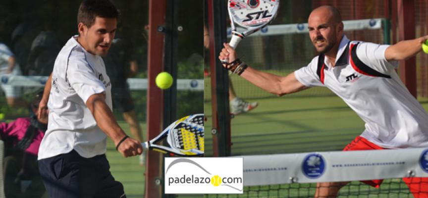 Sergio Beracierto y Javi Bravo hilvanan desde la calma el triunfo en el Torneo THB Reserva del Higuerón