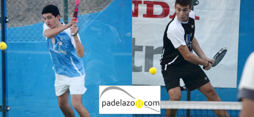 Carlos Pérez y José Carlos Gaspar imponen el sello de El Candado en el Torneo Honda Cotri del Club Tenis Málaga