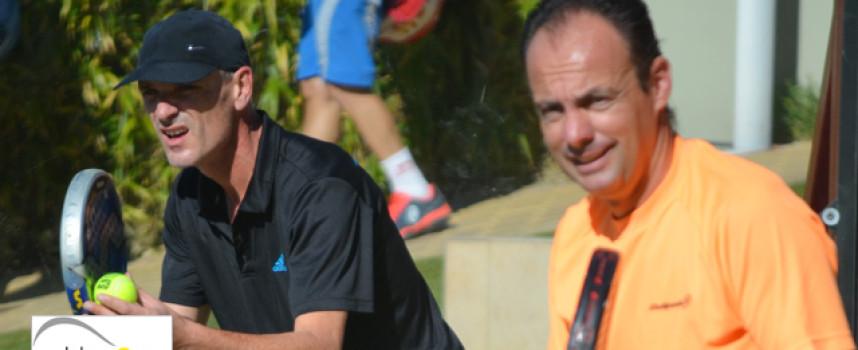 José Peñafiel y Pierre Lamoure coronan su padel con el título de maestros de Andalucía 2013
