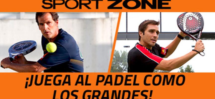 Gran concurso Sport Zone: empieza 2014 con la pala de padel de un número uno