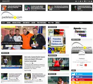 Web Padelazo