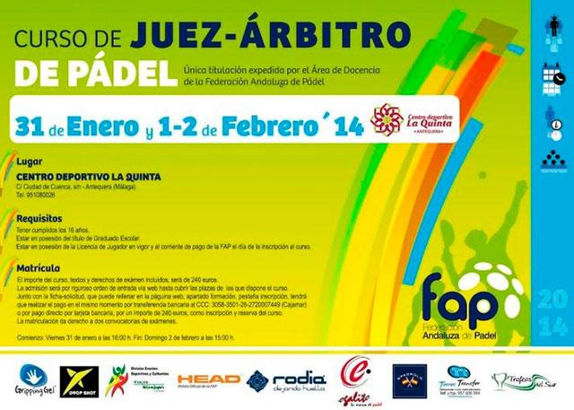 cartel-curso-juez-arbitro-fap-la-quinta-antequera-enero-2014-