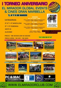 cartel torneo mirador cines marbella marzo 2014
