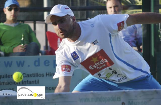 juanjo gutierrez final masculina campeonato provincial padel absoluto el candado enero 2014