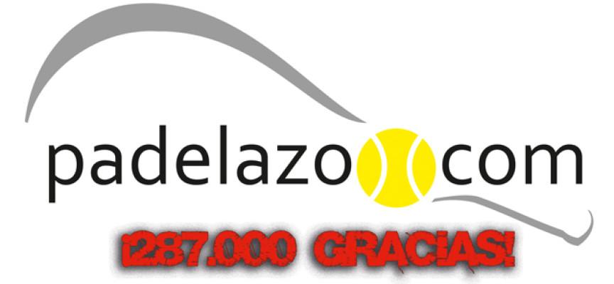 Padelazo 2013 con 287.000 visitas: ¿Qué fue lo más visto?