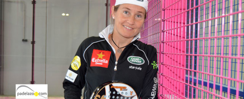 Carolina Navarro prepara la reconquista del trono en el World Padel Tour 2014