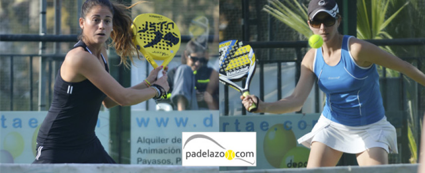 Patri Mowbray y Mari Carmen Villalba apabullan desde la calma en el Campeonato Provincial Absoluto de 2014