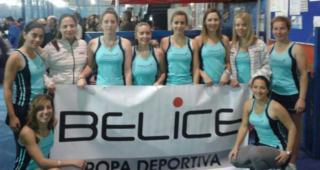 capellania femenino campeonato andalucia padel por equipos primera categoria sevilla febrero 2014