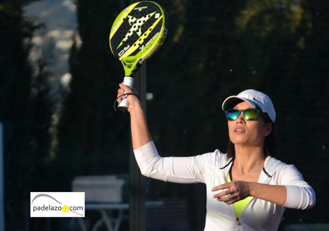 Siska Van Deurs 3 padel 5 femenina torneo aguilazo cerrado del aguila febrero 2014