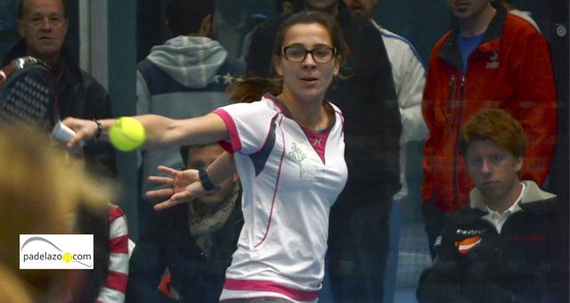 elena ramirez final femenina copa andalucia padel sport granada febrero 2014