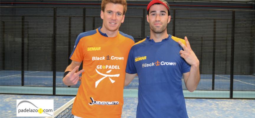 Javi Ruiz y Peli Espejo resurgen a tiempo para vencer en la final de la Copa Andalucía
