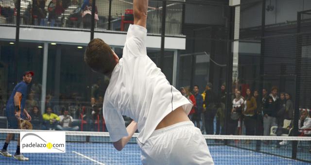 jose benavides 2 final masculina copa andalucia padel sport granada febrero 2014