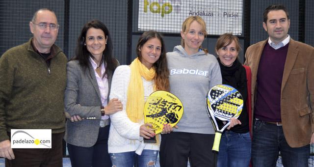 mari carmen villalba y patricia mowbray campeonas final femenina copa andalucia padel sport granada febrero 2014
