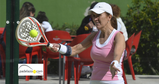 maria eugenia padel 4 femenina Torneo Padel Invierno Club Calderon febrero 2014