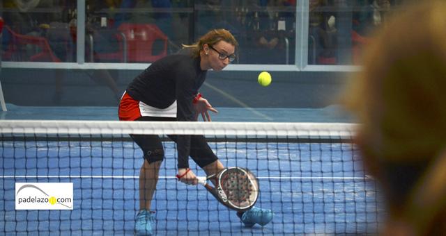 noelia marquez 2 final femenina copa andalucia padel sport granada febrero 2014