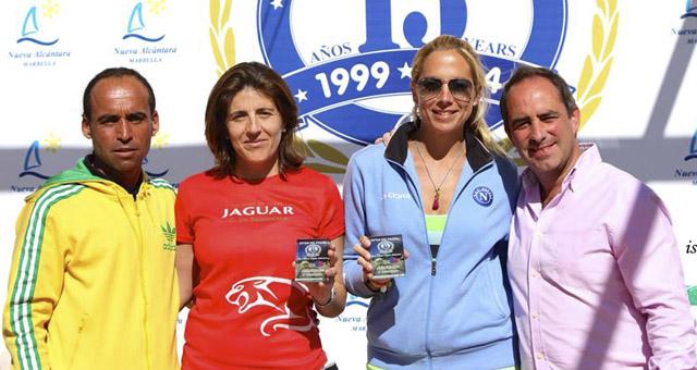 pilar garcia y trudy chinarro campeonas consolacion 2 femenina torneo xv aniversario nueva alcantara febrero 2014