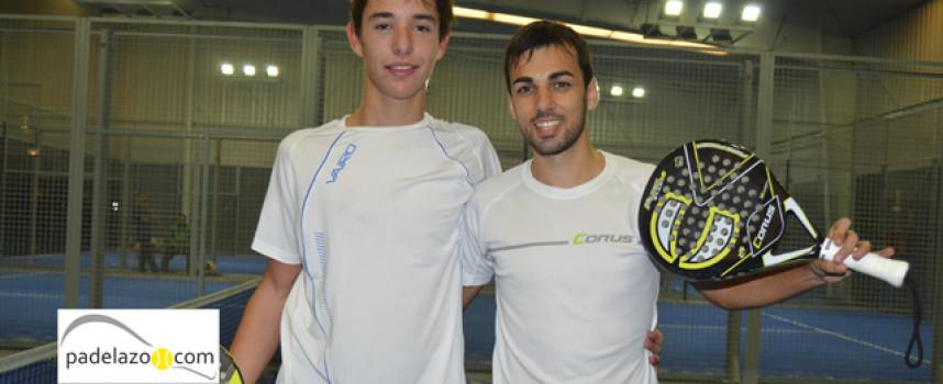 Fran González y Javi Redondo mecen el triunfo en el Torneo de Invierno de Padel n Sports Estepona