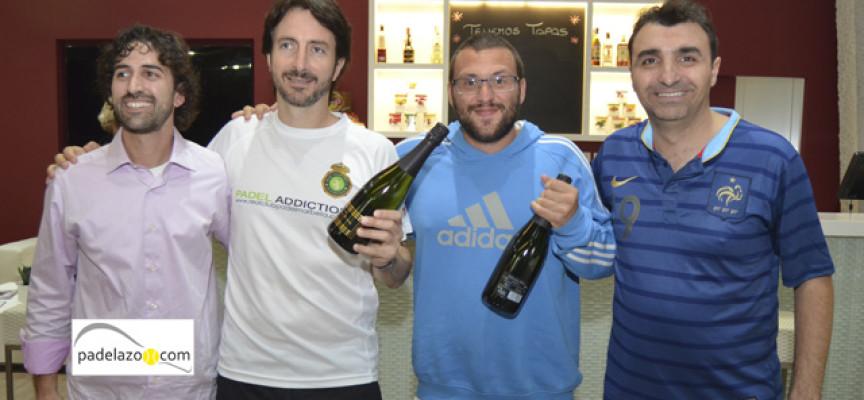 El espectáculo del padel se refugia en el Torneo de Invierno de Padel n Sports Estepona