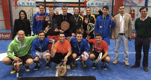 real sociedad tenis granada campeonato andalucia padel por equipos primera categoria sevilla febrero 2014