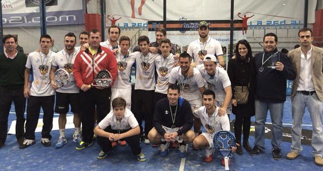sharkpadel masculino campeonato andalucia padel por equipos primera categoria sevilla febrero 2014