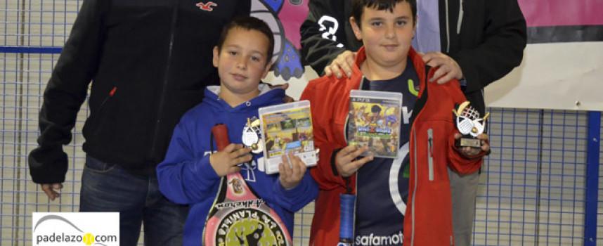 El futuro malagueño se hace presente en el Campeonato de Padel de Menores 2014 en Fantasy Padel