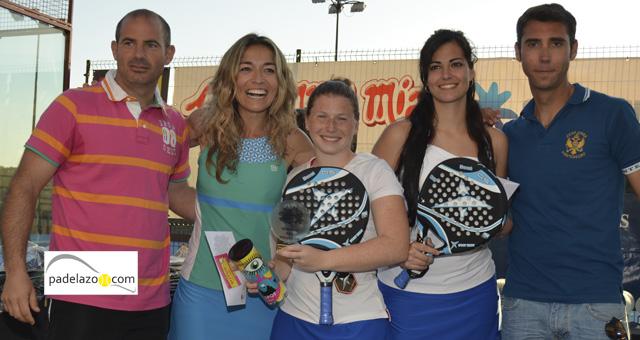 carolina wallace y marina padel campeonas 3 femenina torneo reserva higueron marzo 2014