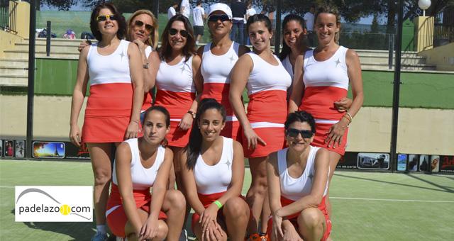 club calderon femenino campeonato andalucia padel equipos 2 categoria marbella marzo 2014