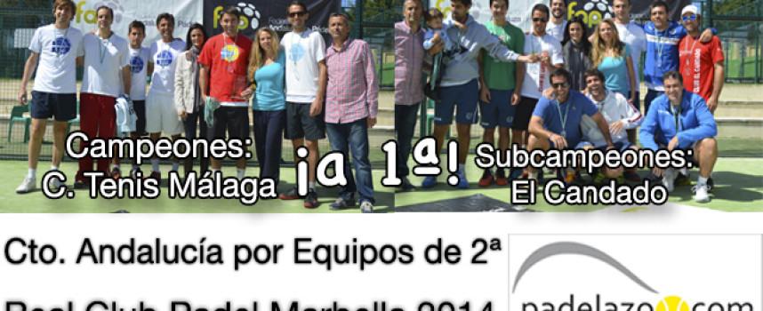 Club Tenis Málaga y El Candado recuperan su lugar en la élite del padel andaluz