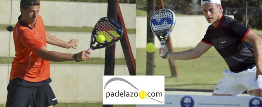 El ciclón Rocafort arrasa la central de Reserva del Higuerón para llevarse la 1ª de su primer torneo de padel de 2014