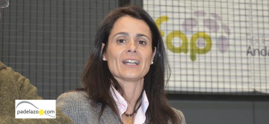 """María del Mar García-Lorca, presidenta de la FAP: """"Voy a tomar decisiones duras para algunas personas""""."""