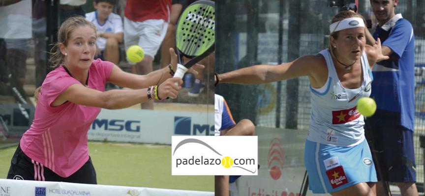 Carolina Navarro y Marta Ortega buscarán juntas la corona en el Campeonato de España de Padel 2014