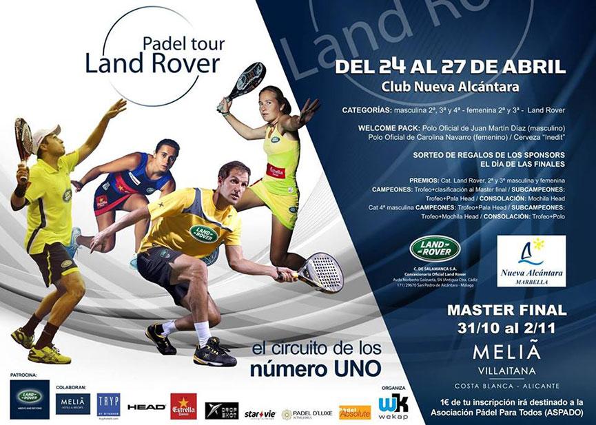 cartel-land-rover-padel-tour-2014-marbella-nueva-alcantara