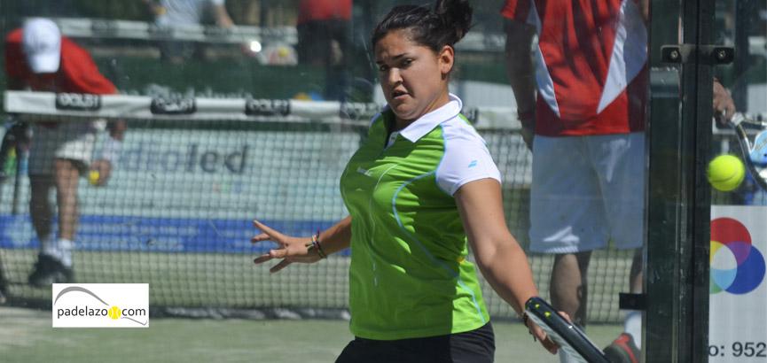 andreina de los santos 6 final femenina 2 prueba circuito provincial fap malaga vals sport consul abril 2014