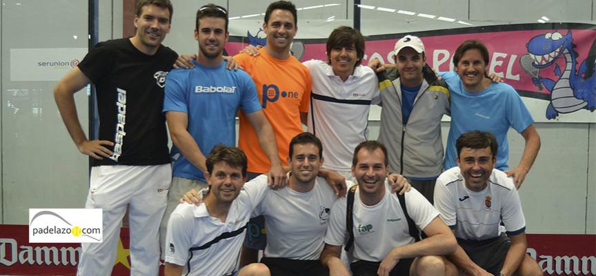 El padel masculino de Málaga saca músculo en la previa del Campeonato de Andalucía por Equipos de 3ª